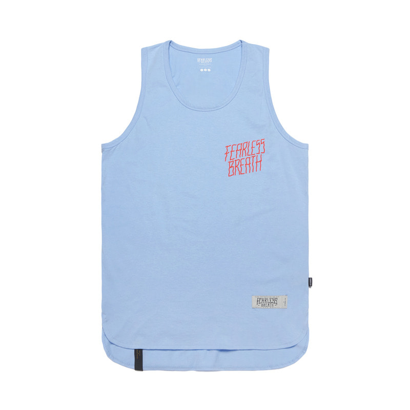 FEARLESS LONG SLEEVELESS BLUE