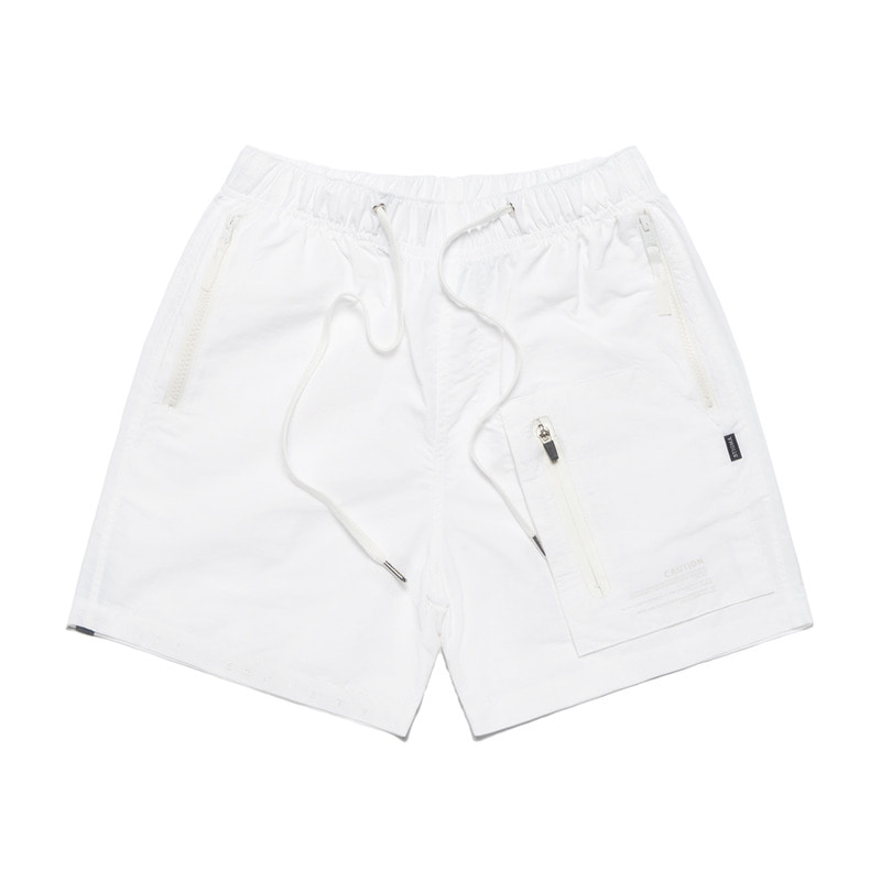S TECH SHORT PANTS WHITE