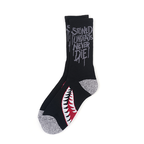 SPITFIRE SKATE SOCKS_BLACKSOLD OUT